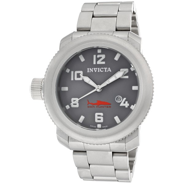 Invicta Men's 'Russian Diver/Sea Hunter' Stainless Steel Watch