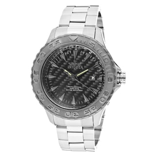 Invicta Men's 'Pro Diver/Ocean Ghost' Stainless Steel Watch