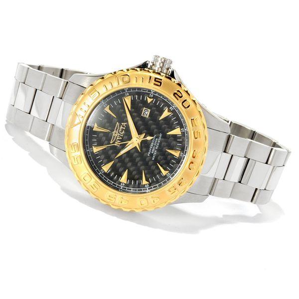 Invicta Men's 12556 'Pro Diver/Ocean Ghost' Stainless Steel Watch