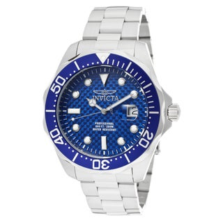 Invicta Men's 'Pro Diver/Grand Diver' Stainless Steel Watch