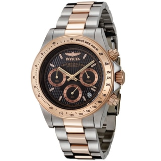 Invicta Men's 'Speedway/Professional' Two-Tone Watch