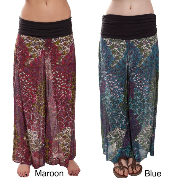 Jungle Print Cotton Pants (Nepal)
