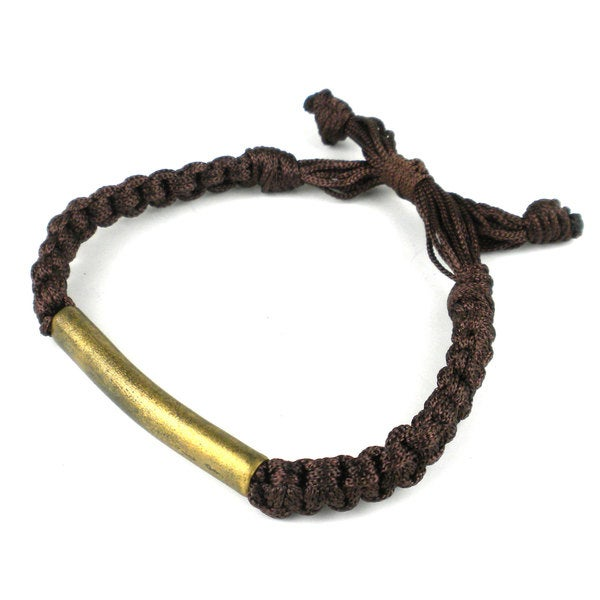 Handcrafted Braided Bomb Casing Tube Bracelet (Cambodia)