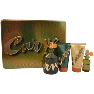 Liz Claiborne 'Curve' Men's 4-Piece Gift Set