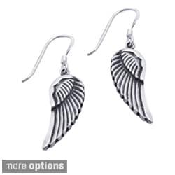 Sterling Silver Angel Wings Earrings (Thailand)