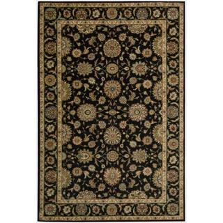Living Treasures Black Rug (2'6 x 4'3)