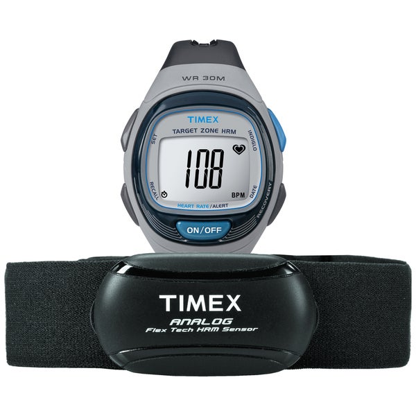 Timex Unisex T5K738 Personal Trainer Heart Rate Monitor Watch with HRM Sensor Chest Strap