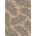 Woven Indoor/ Outdoor Captiva Beige/ Grey Patio Rug (5'3 x 7'6)
