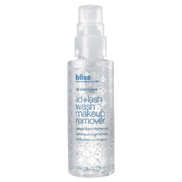 Bliss Lid + Lash Wash 3.7-ounce Makeup Remover