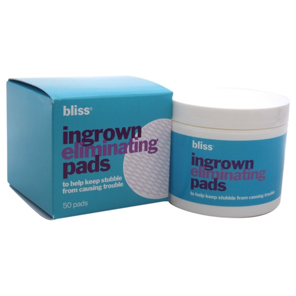 Bliss Ingrown Eliminating Pads (50 Pads)