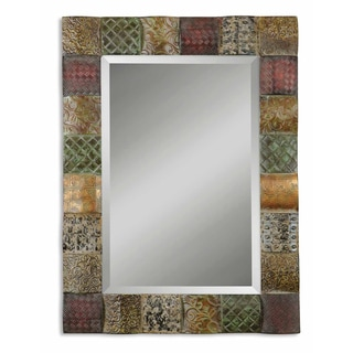 Ganya Sheet Metal Framed Mirror