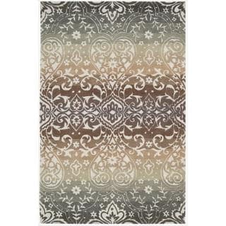 Hand-tufted Panorama Earth Rug (8' x 10'6)