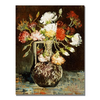 Vincent Van Gogh 'Bouquet of Flowers II' Canvas Art