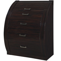 Madison Zebrano Wood Veneer 4-drawer Chest
