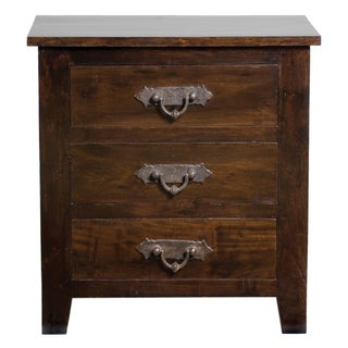 Venice 3 Drawer Nightstand