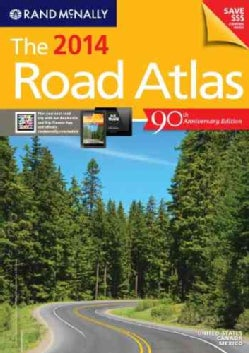 Rand McNally 2014 Road Atlas: United States, Canada, Mexico (Paperback)