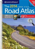 Rand Mcnally Large Scale Road Atlas 2014: United States (Spiral bound)