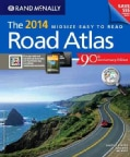 Rand McNally Midsize Easy to Read Road Atlas 2014: United States, Canada, Mexico (Paperback)