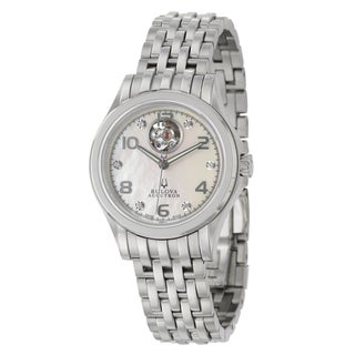 Bulova Accutron Women's 'Kirkwood' Stainless Steel Swiss Automatic Watch