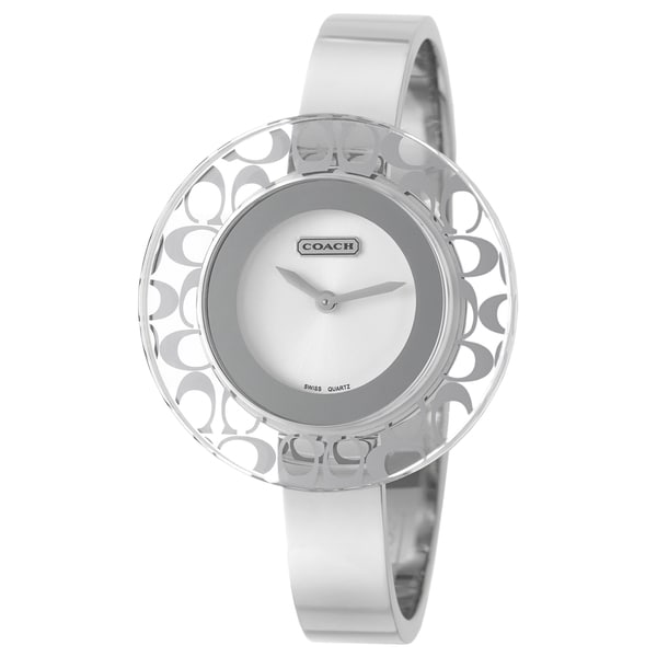 Coach Women's 'Daphne' Stainless Steel Swiss Quartz Watch