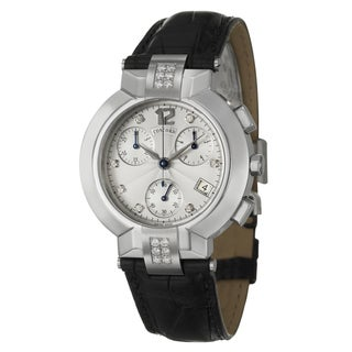 Concord Men's 'La Scala' Stainless Steel Chronograph Watch