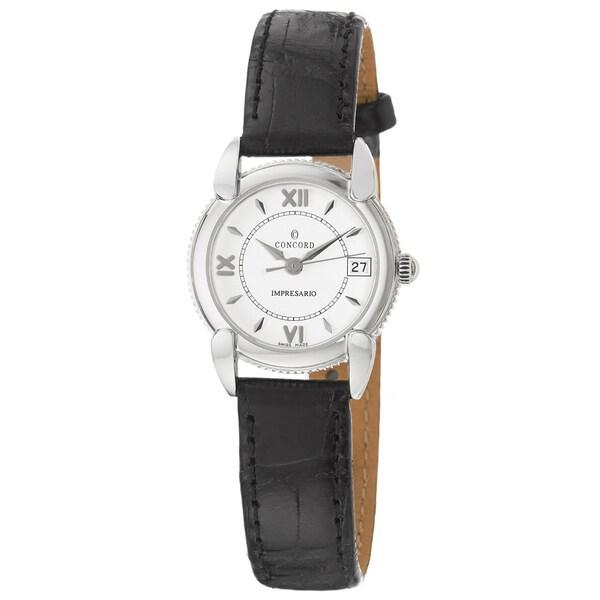 Concord Women's 'Impresario' Stainless Steel Swiss Quartz Watch