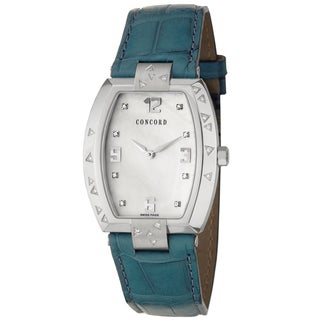 Concord Women's 'La Scala' Steel Diamond-accented Swiss Quartz Watch