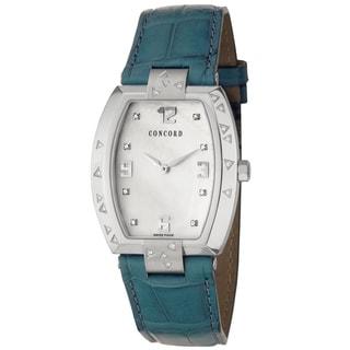 Concord Women's 'La Scala' Steel Diamond-accented Swiss Quartz Watch