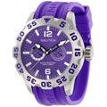 Nautica Men's Purple Dial and Purple Resin Strap Quartz Watch
