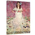 Gustav Klimt 'Eugenia Primavesi' Gallery Wrapped Canvas