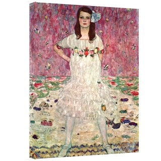 Gustav Klimt 'Eugenia Primavesi' Gallery Wrapped Canvas