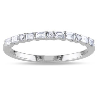 14k White Gold 1/3ct TDW Diamond Ring (G-H, SI1-SI2)