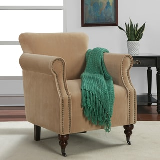 'Tiburon' Honey Upholstery Arm Chair
