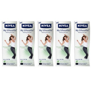 Nivea My Silhouette Bio-slim Complex Redefining 7-ounce Gel-cream (Pack of 5)