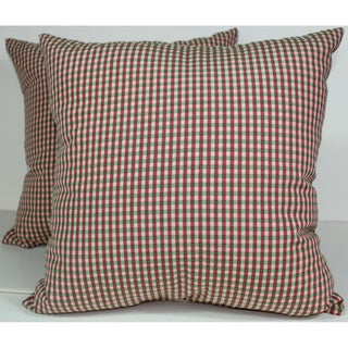 RLF Home Colburn Geranium 16-inch Decorative Pillows (Set of 2)