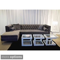 Decenni Custom Tobias 8-Foot Sectional Sofa