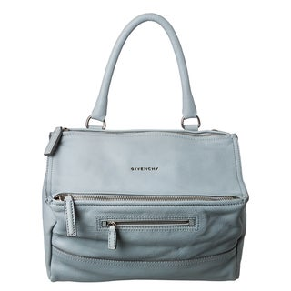 Givenchy 'Pandora' Medium Sky Blue Leather Messenger Bag