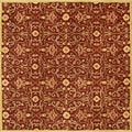 Alliyah Hand-tufted Delhi Burgundy/ Gold New Zeeland Wool Rug (10' x 10')