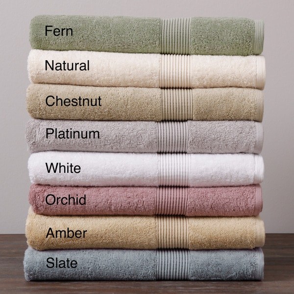 Beatrice Solid Color Dobby 4-piece Towel Set
