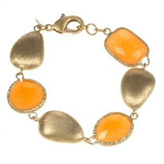 Rivka Friedman Orange Single Strand Bracelet