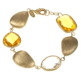 Rivka Friedman Single Strand Gem and Pebble Bracelet