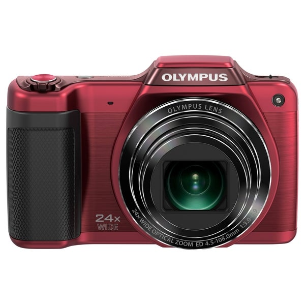 Olympus Traveller SZ-15 16 Megapixel Compact Camera - Red