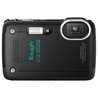 Olympus Tough TG-630 iHS 12 Megapixel Compact Camera - Black