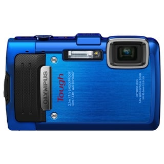 Olympus Tough TG-830 iHS 16 Megapixel Compact Camera - Blue