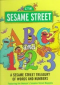 Sesame Street ABC and 123: A Sesame Street Treasury of Words and Numbers (Hardcover)