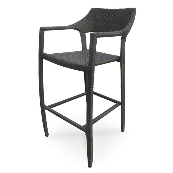 Tuscanna Espresso Weave Outdoor Bar Stool 15085041  : Tuscanna Espresso Weave Outdoor Bar Stool 739224b4 9522 4f98 bc49 88870c65943c600 from www.overstock.com size 600 x 600 jpeg 22kB