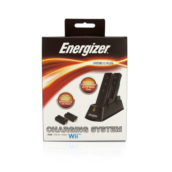Energizer Power & Play 2X Charging System for Wii