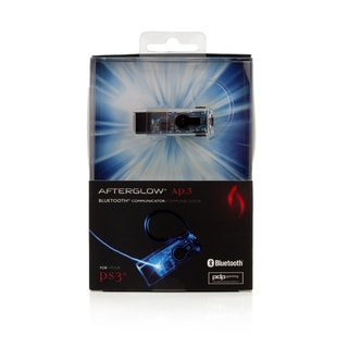 AFTERGLOW Bluetooth Headset for PS3 (Blue)