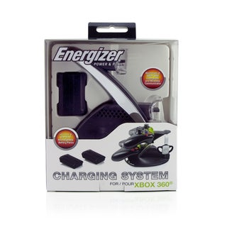 Energizer Power & Play for Xbox 360 Charging System with 2 Rechargeable Battery Packs