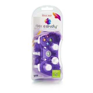 Rock Candy Xbox 360 Controller (Purple)